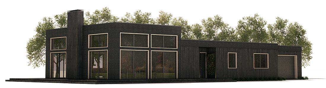Plantas de casas modernas planta de casa moderna ch359 for Casa moderna 6 parte 2