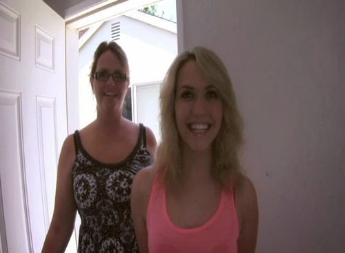 Mom watches daughters blowjob audition