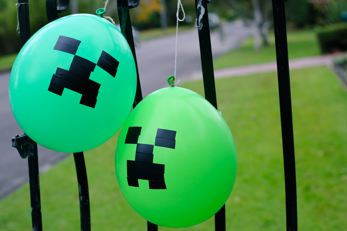 The Best Diy Minecraft Party Decorations Especially On A