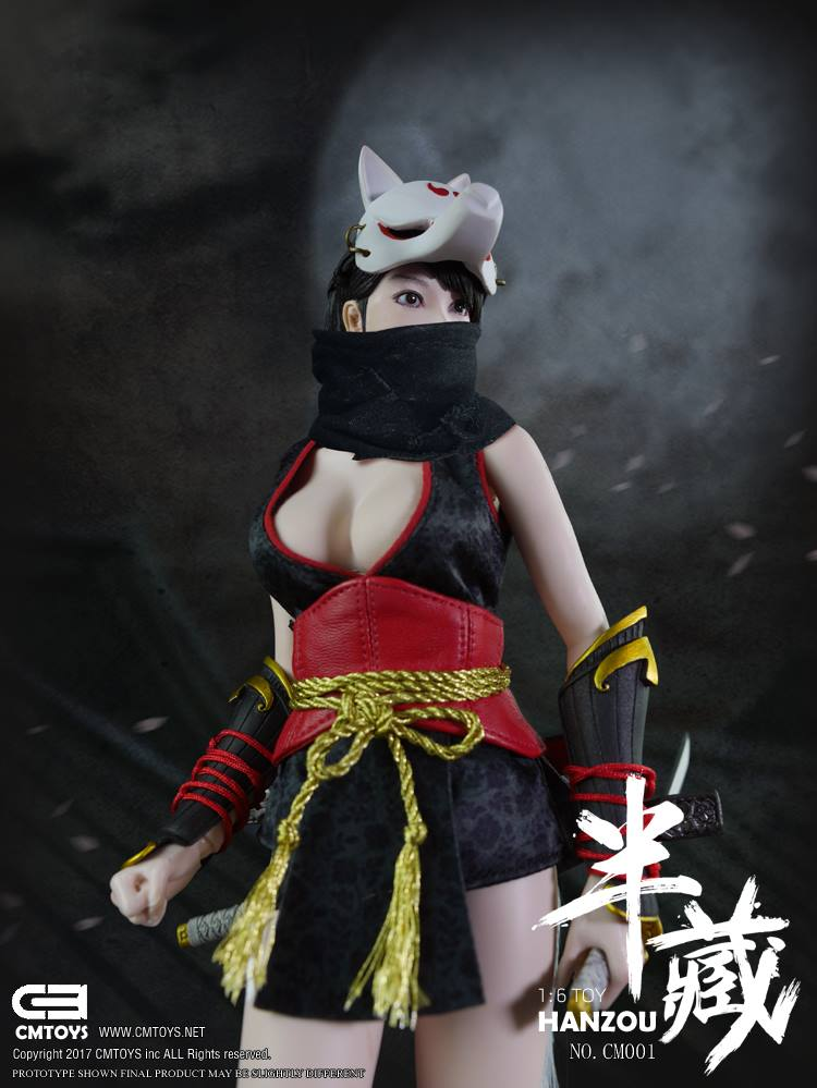Toyhaven Check Out Cm Toys Cm001 1 6th Scale Hanzou The Kunoichi 12 Inch Female Ninja Action Figure