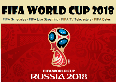 FIFA World CUP 2018 Live streaming and TV telecaster details