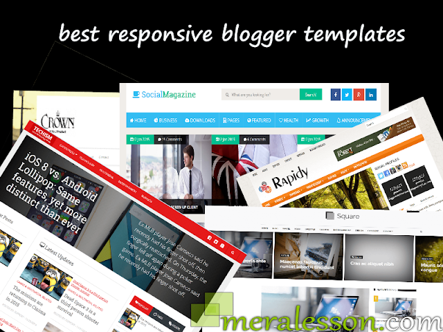 Responsive Blogger Templates That You Should Check 2015 Top 5