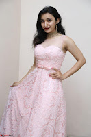 Sakshi Kakkar in beautiful light pink gown at Idem Deyyam music launch ~ Celebrities Exclusive Galleries 015.JPG