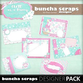 Buncha Scraps LiL Cards