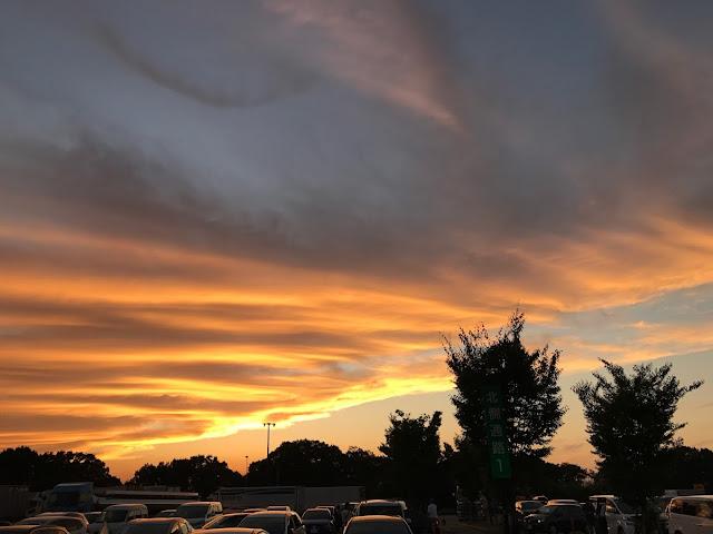 イメージ画像:夕焼け