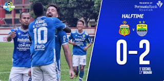 HT: Bhayangkara FC vs Persib Bandung 0-2 Highlights