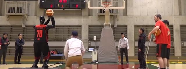 Cue - Το Ρομπότ που σουτάρει καλύτερα από τους επαγγελματίες μπασκετμπολίστες