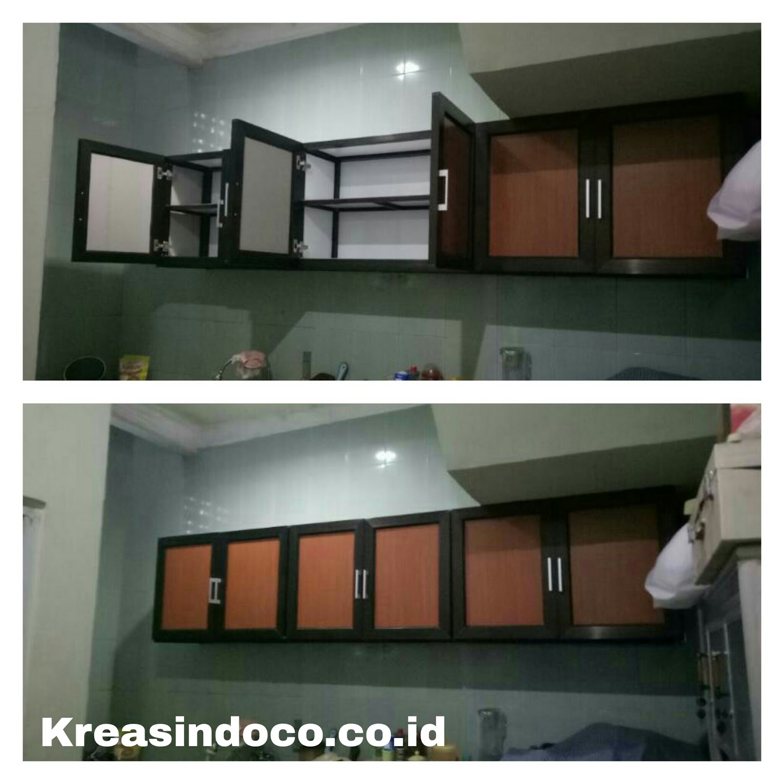 Interior design jogja kitchen set acp kitchen set pemasangan di karadenan bogor