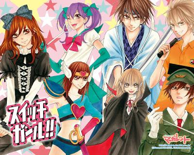 Switch Girl!! de Natsumi Aida