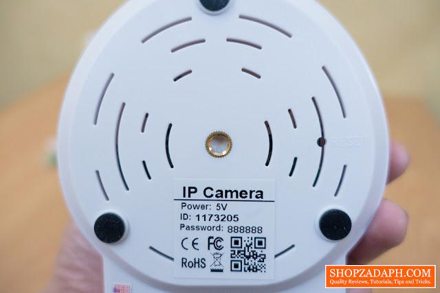 sricam ip camera device information
