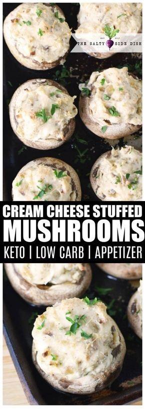 Stuffed Mushrooms With Cream Cheese