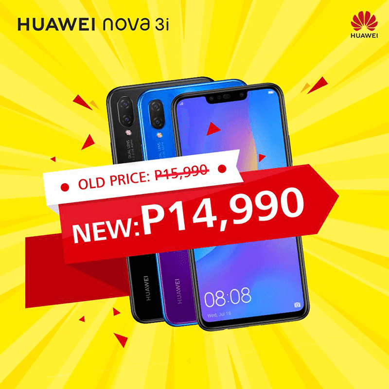 Sale Alert: Huawei Nova 3i is down to PHP 14,990!