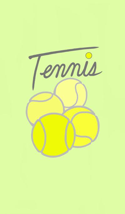 Simple tennis