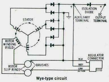 Wiring Diagram Of Brushless Generator