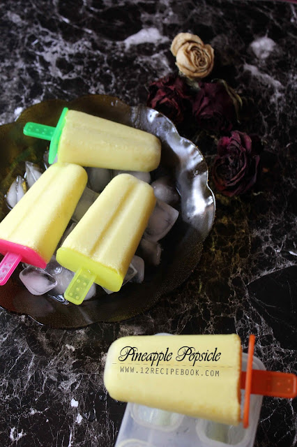 Pineapple Popsicle