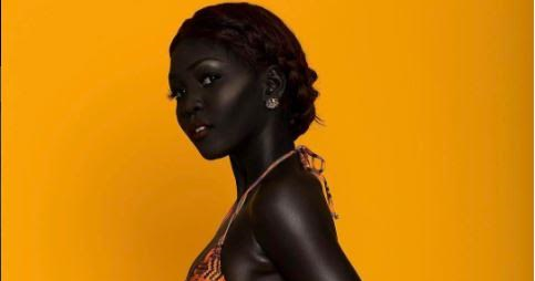 photos meet the south sudanese model nicknamed 39 queen of dark 39 welcome to linda ikeji 39 s blog. Black Bedroom Furniture Sets. Home Design Ideas