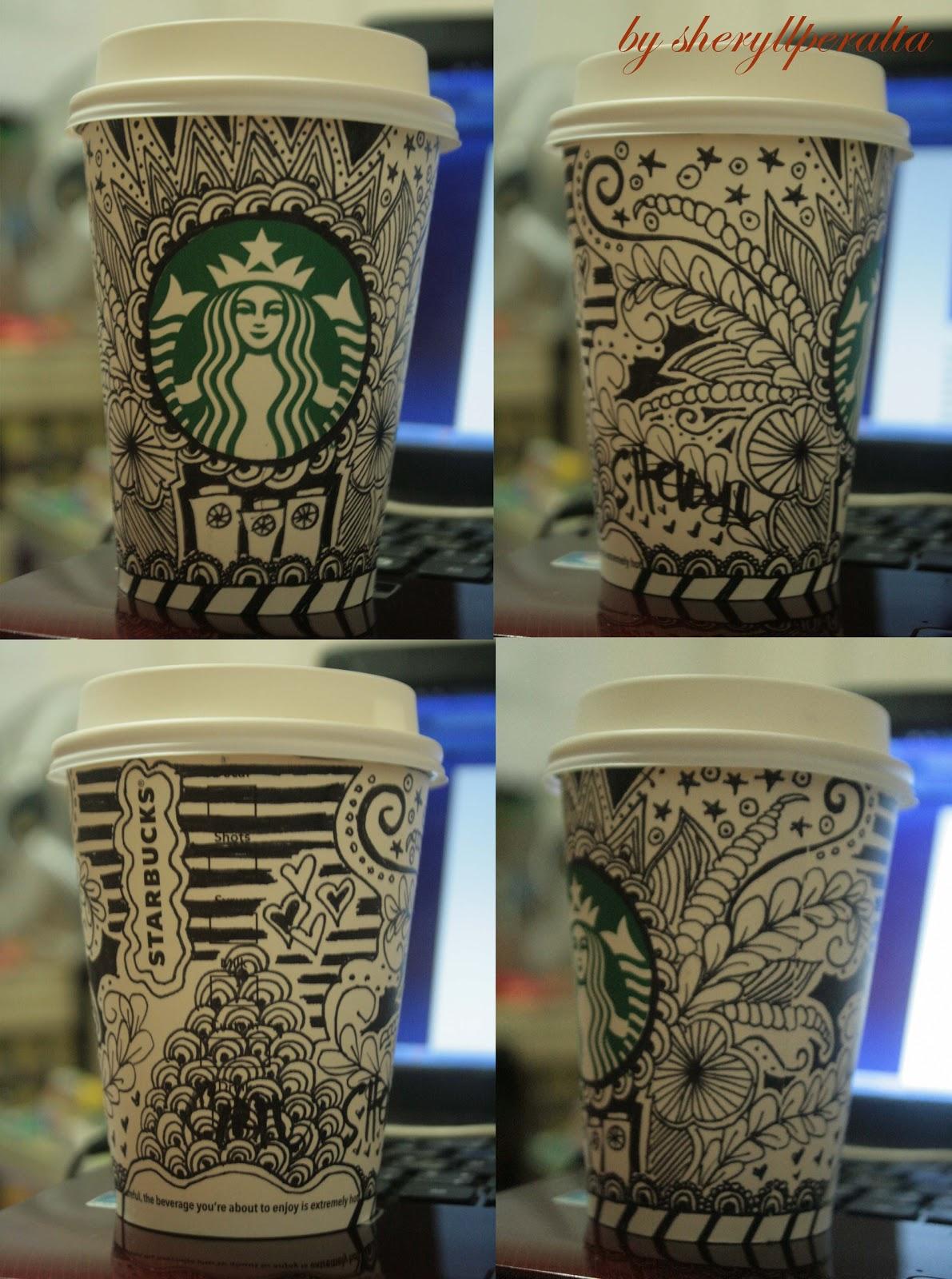 Art in print: Starbucks doodle