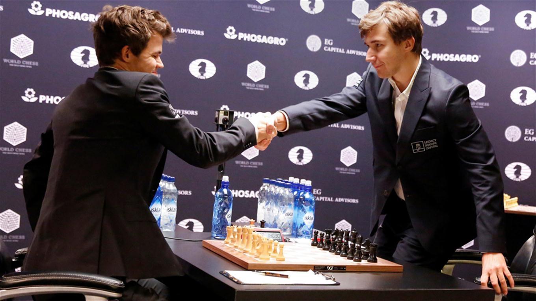 Carlsen retuvo el título mundial