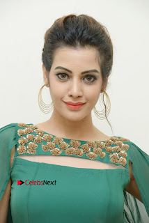 Diksha Panth Latest Pictures in Green Dress at Banti Poola Janaki Audio Function | ~ Bollywood and South Indian Cinema Actress Exclusive Picture Galleries
