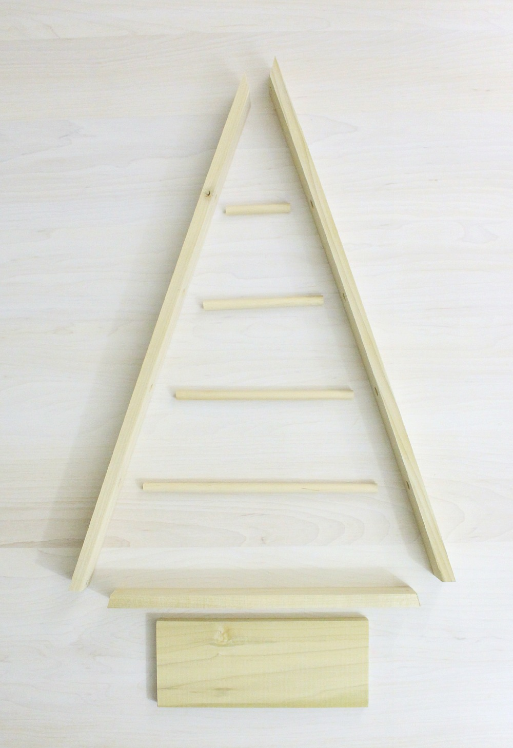 A-frame ornament display