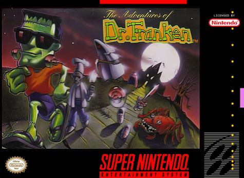 The Adventures of Dr. Franken - Super Nintendo
