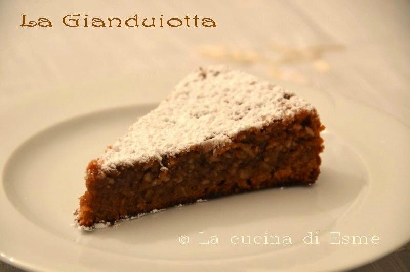 La cucina di esme la gianduiotta torta al cioccolato gianduia con nocciole delle langhe - La cucina di esme ...