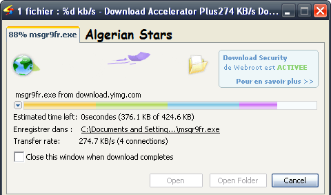 Download Accelerator Plus (DAP) 10 0 6 0 Full - Algerian Stars