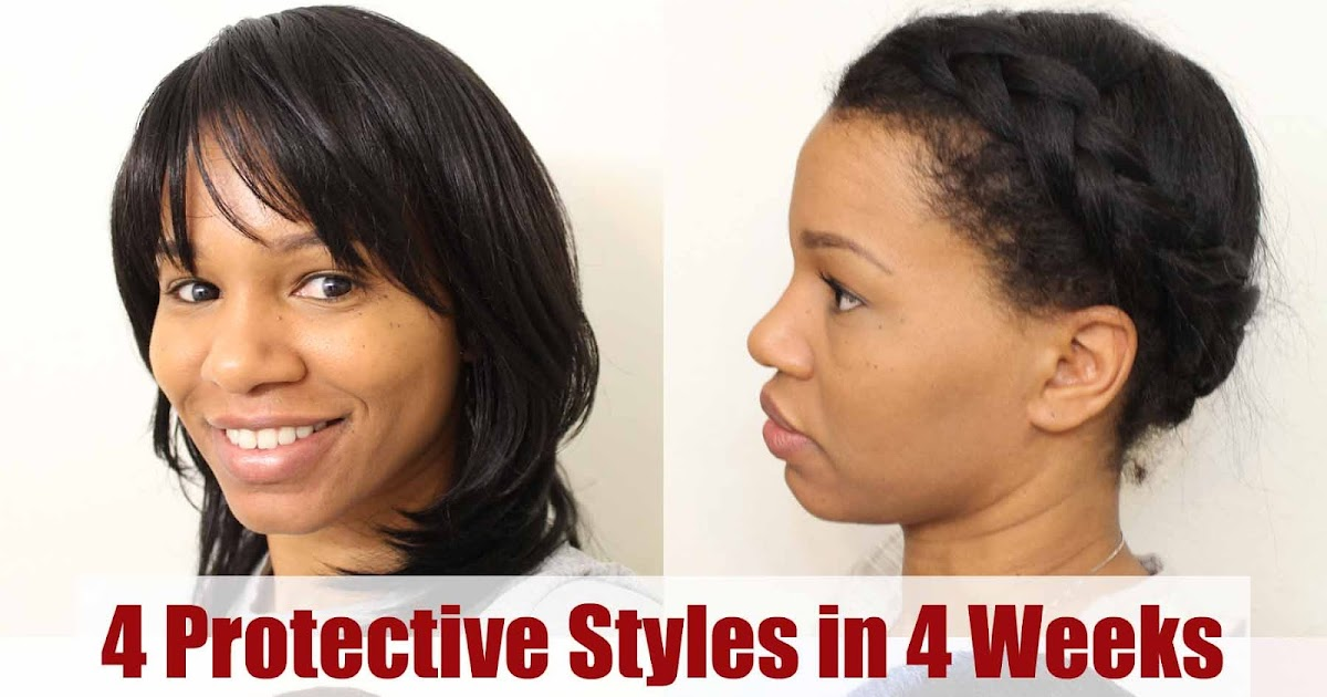 Curly in Colorado: 4 Protective Hair Styles in 4 Weeks