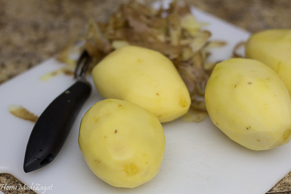 Fried Stuffed Potato Balls - mashed potato stuffed with seasoned meat and fried to golden perfection