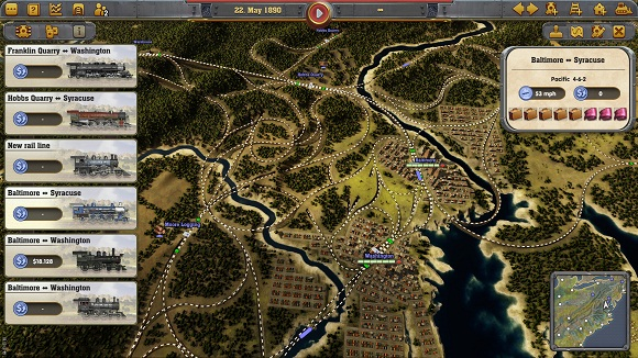 Railway Empire PC Full Version Screenshot 1