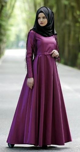 Busanamuslim 11 Contoh Model Gamis Muslimah Remaja Modern Terbaru