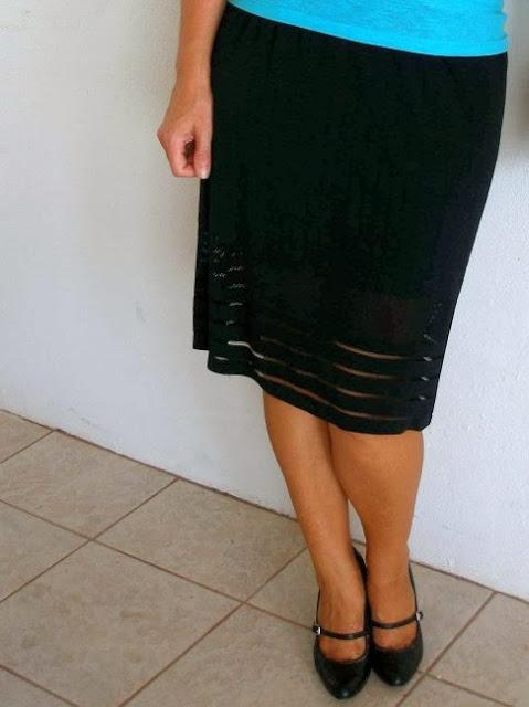 no sew easy pencil skirt