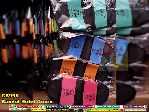 jual Sandal Hotel Green
