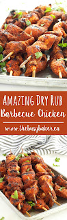 Dry Rub Barbecue Chicken www.thebusybaker.ca