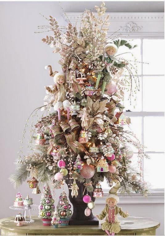 Arredamento provenzale albero di natale stile provenzale for Arredamento stile provenzale