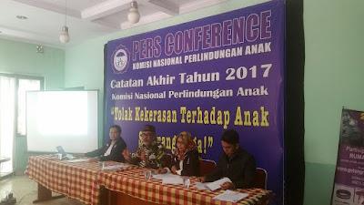 Komnas Perlindungan Anak: Catatan Akhir Tahun Dan Prediksi Situasional Anak Indonesia 2018