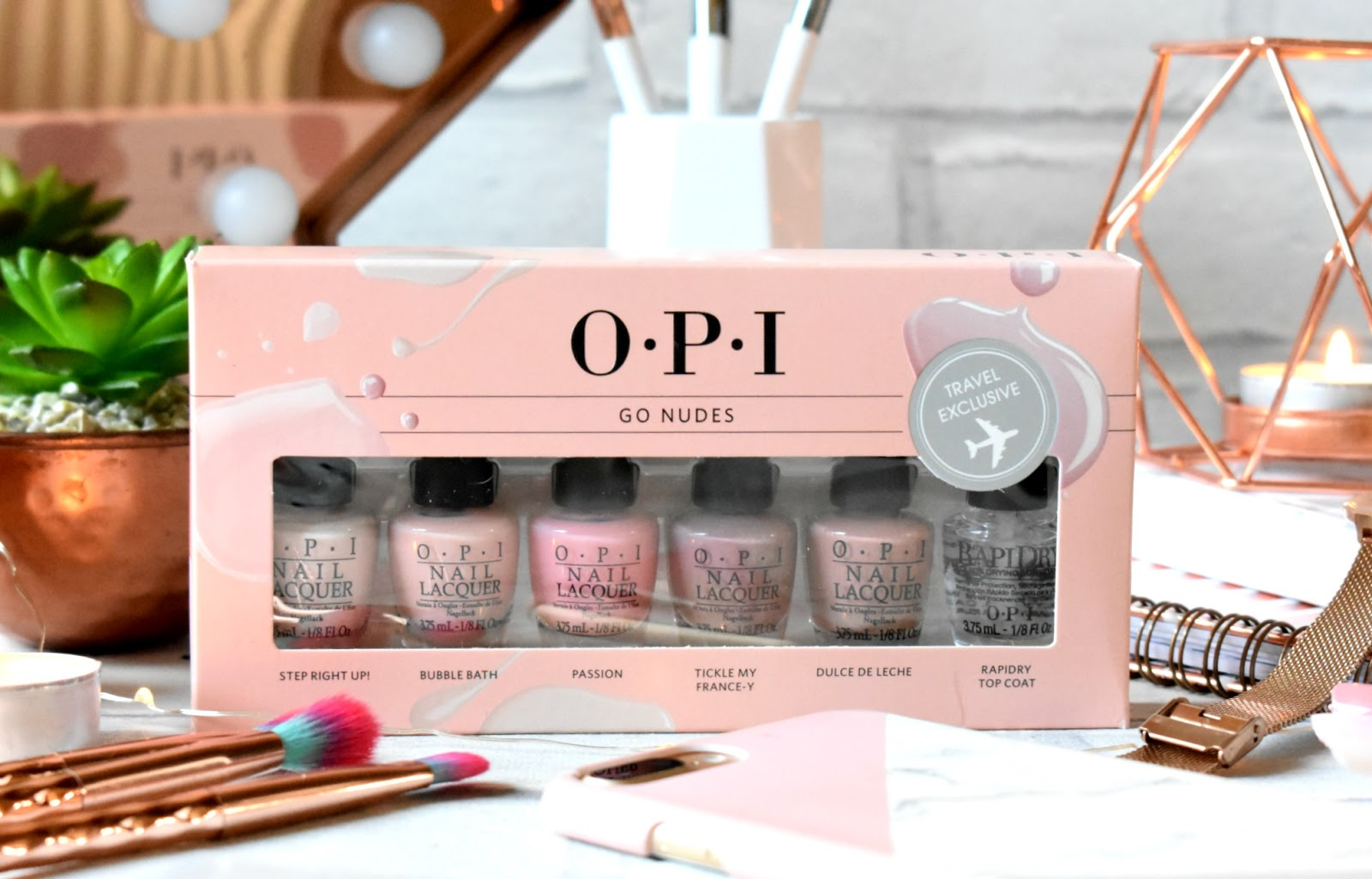 OPI Nail Polish Lacquer [NUDE SET] *SPECIAL* Set of 6