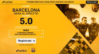 betfair Barcelona gana Athletic supercuota 5 Liga 28 agosto