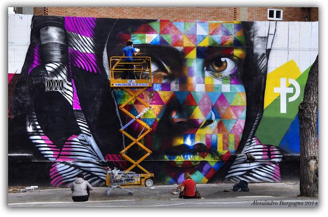 Roma - Street Art, via Prenestina