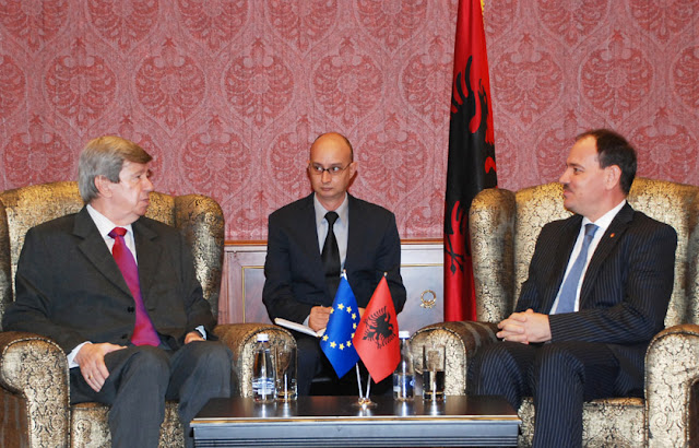 President Nishani received the delegation of the European Parliament