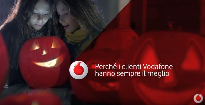 Canzone Vodafone pubblicità con zucca rossa  - Musica spot Ottobre 2016