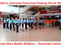 Walk In Interview Transmart Padang 20 Juli 2017 Lantai 1
