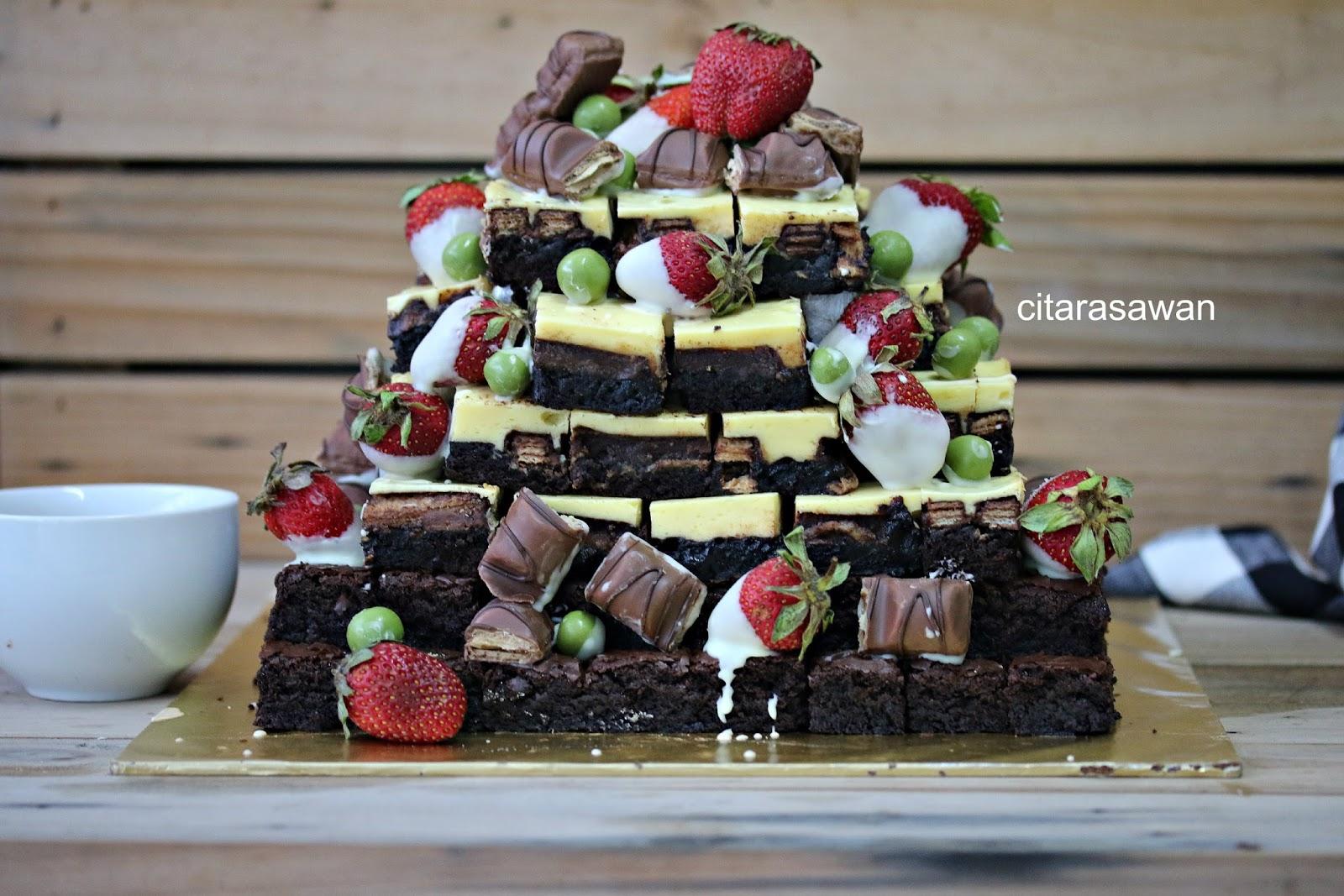 Tempahan Brownies  Blog Kakwan