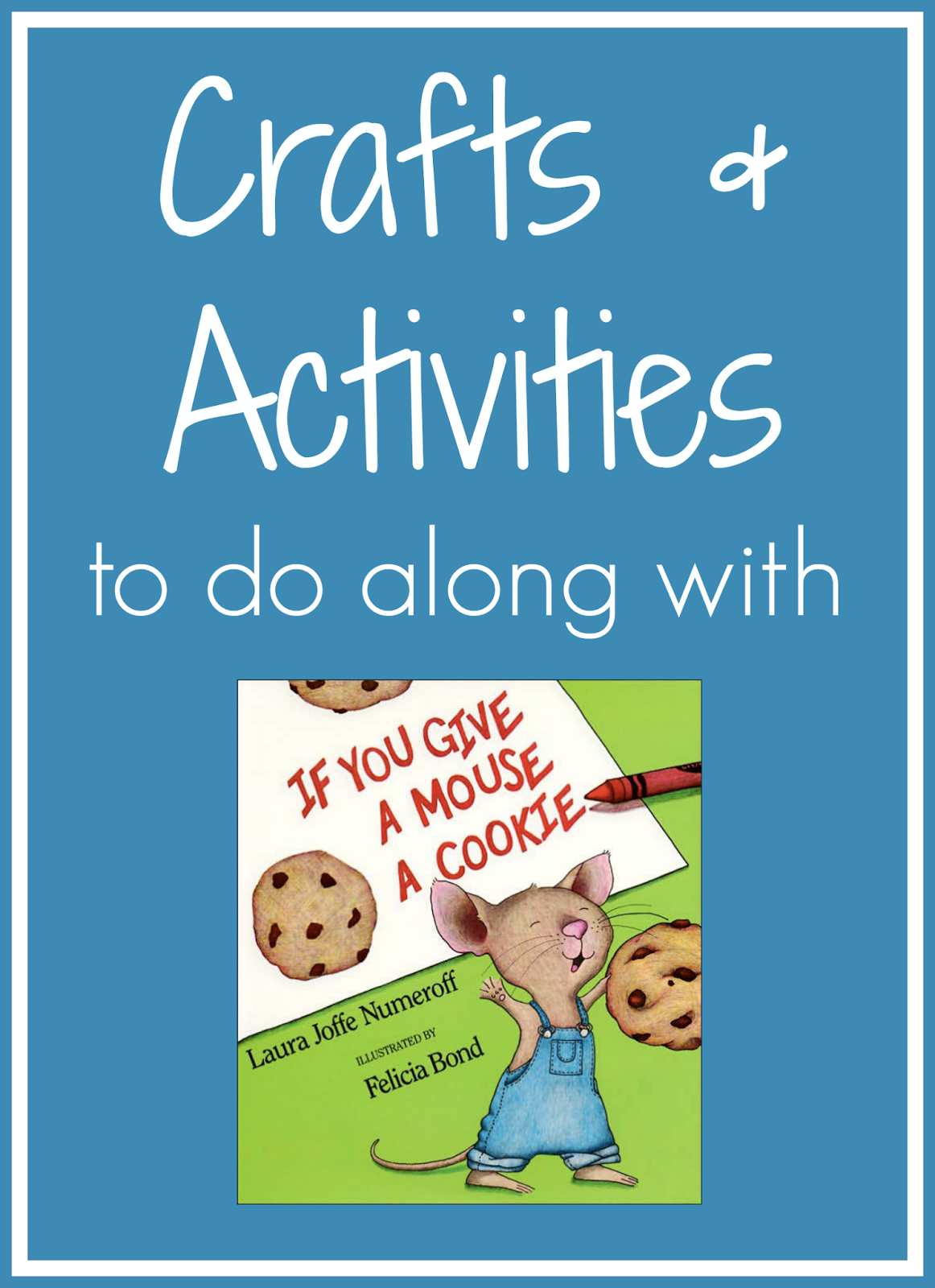 Toddler Approved If You Give A Mouse A Cookie Crafts And