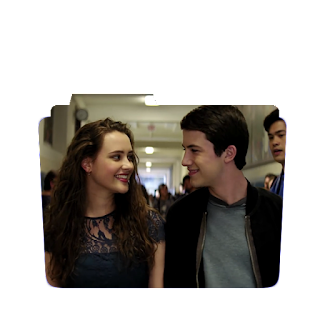 Preview of clay jensen, henna bakers, 13 reasons why, tv show, folder icon