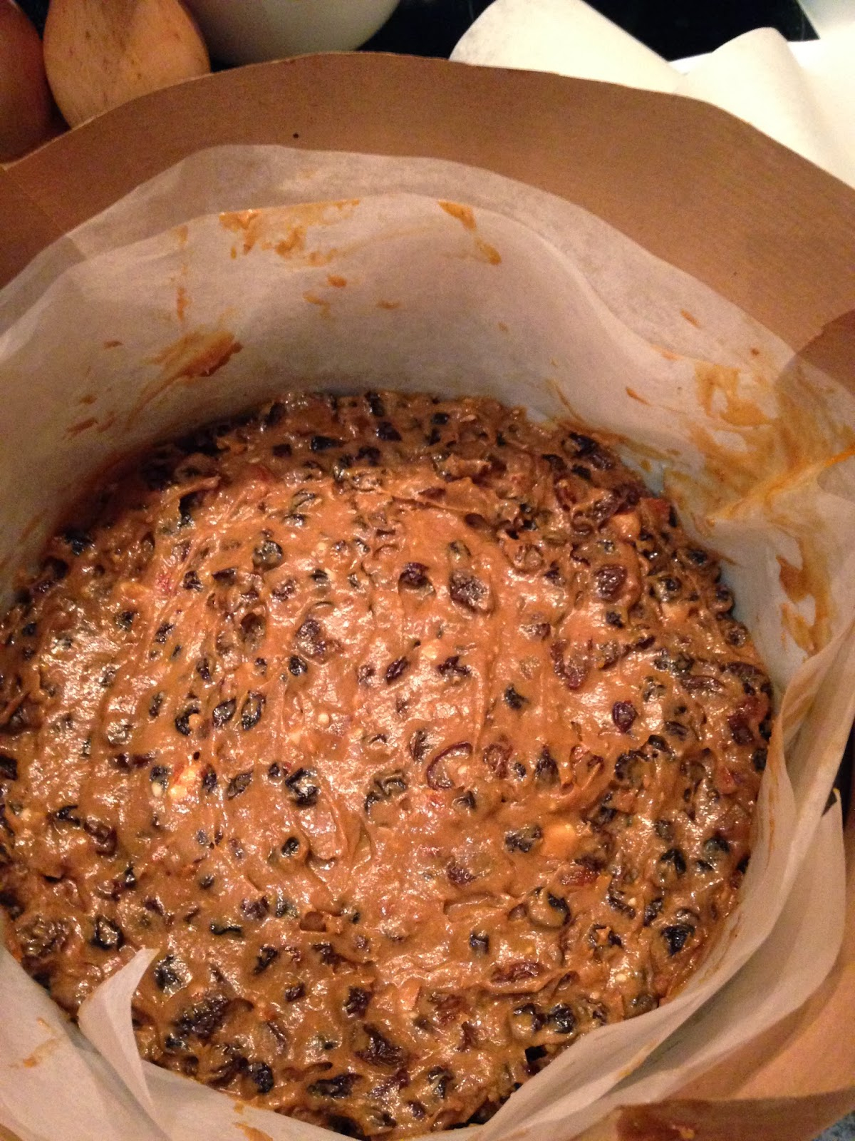 Delia Christmas Cake In Loaf Tin