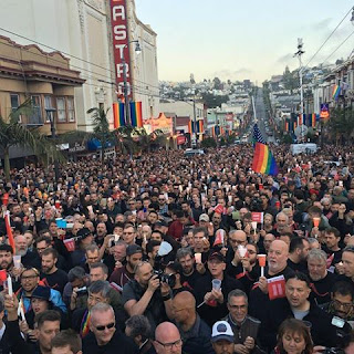 The Castro (San Francisco) mourns the Orlando victims