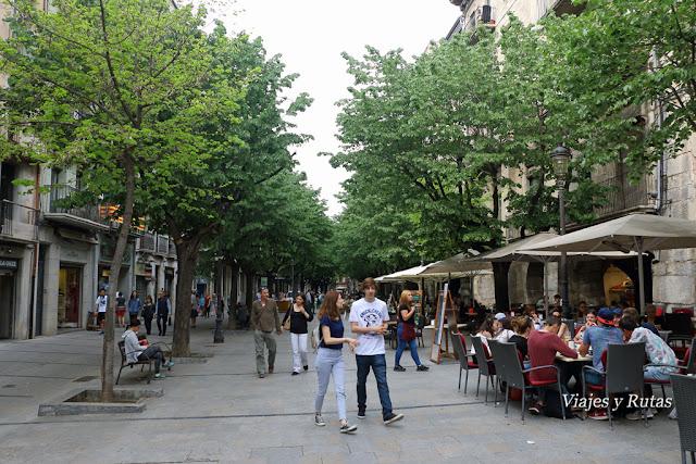 Rambla de la LLibertat,Girona