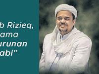 Keturunan Nabi, Habib Rizieq Yang Hidupnya Dijamin Arab Saudi Kirim Salam Untuk Rakyat Indonesia, Begini Pesannya