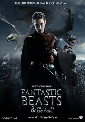Fantastic Beasts and Where to Find Them 2016 HDTS x264 800MB